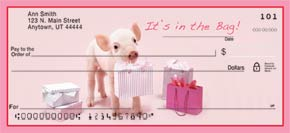 This Little Piggy Booklet of 150 Address Labels