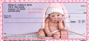 Cute As Can Be Baby Dolls Personal Check Designs