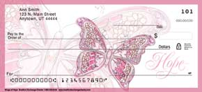 On The Wings of Hope Personal Check Designs