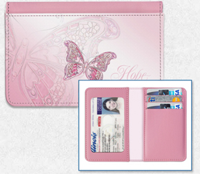On the Wings of Hope Credit Card Holder