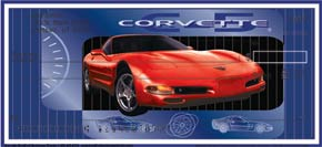 Corvette Personal Check Designs