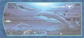 Wyland Sea Life Personal Check Designs