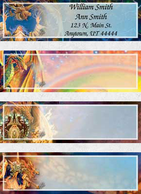 Fantasy Address Labels
