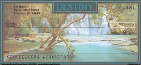 Waterscapes Personal Check Designs