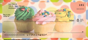 Cupcake Craze Personal Check Designs