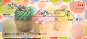 Cupcake Craze Personal Check Designs