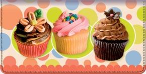 Cupcake Craze Checkbook Cover