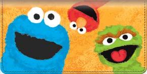 Sesame Street Checkbook Cover