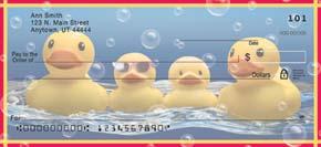 Rubber Ducky Personal Check Designs