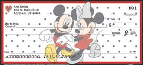 Mickey Loves Minnie Personal Mickey Mouse Check Designs