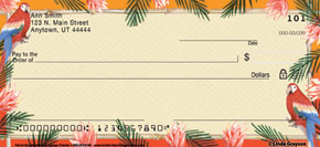 Parrot Bay Personal Check Designs