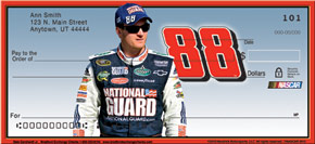 Dale Jr. Personal Check Designs