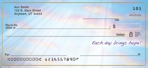 New Day Personal Check Designs