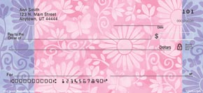 Challis & Roos Floral Escapes Personal Check Designs