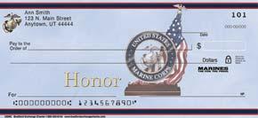 USMC Personal Check Designs