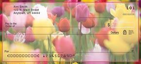 Tulips Personal Check Designs