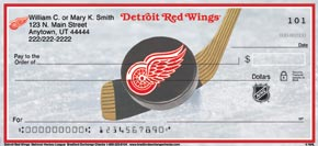 Detroit Redwings Checks