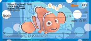 Disney/Pixar Finding Nemo Personal Check Designs