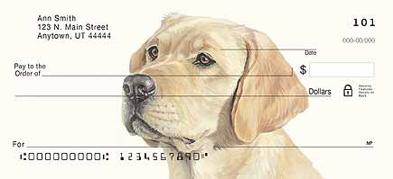 Yellow Labs by artist Linda Picken