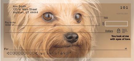 Yorkshire Terrier Faithful Friends Checks
