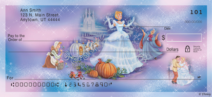 Disney Princess Stories Personal Check Designs