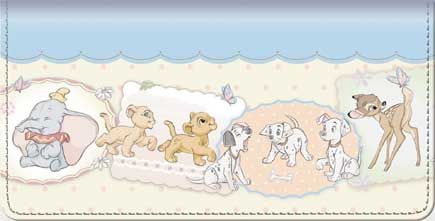 "Disney Magical Beginnings"" Checkbook Cover"