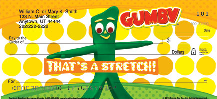 Gumby Personal Checks